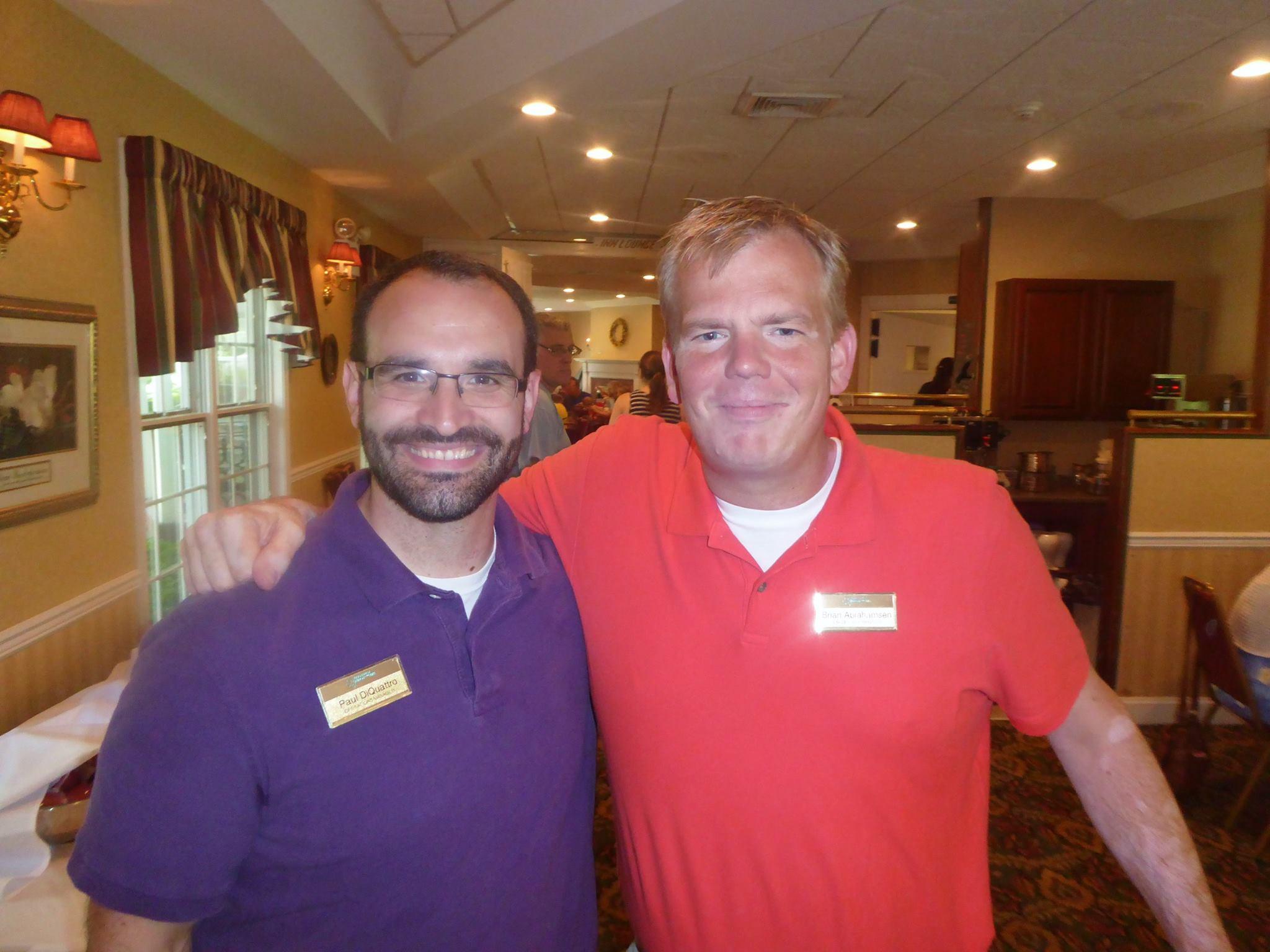 Paul DiQuattro and Brian Abrahamsen