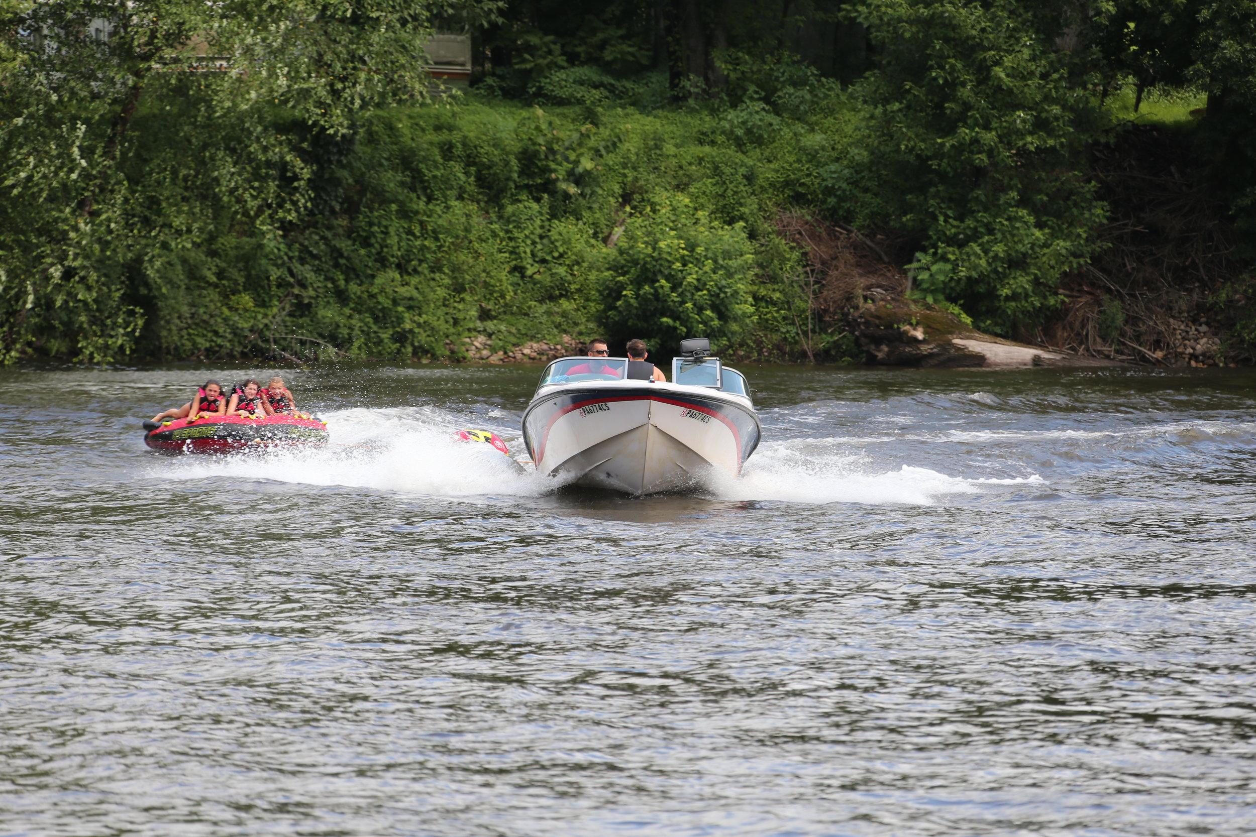 Seasonal river activities