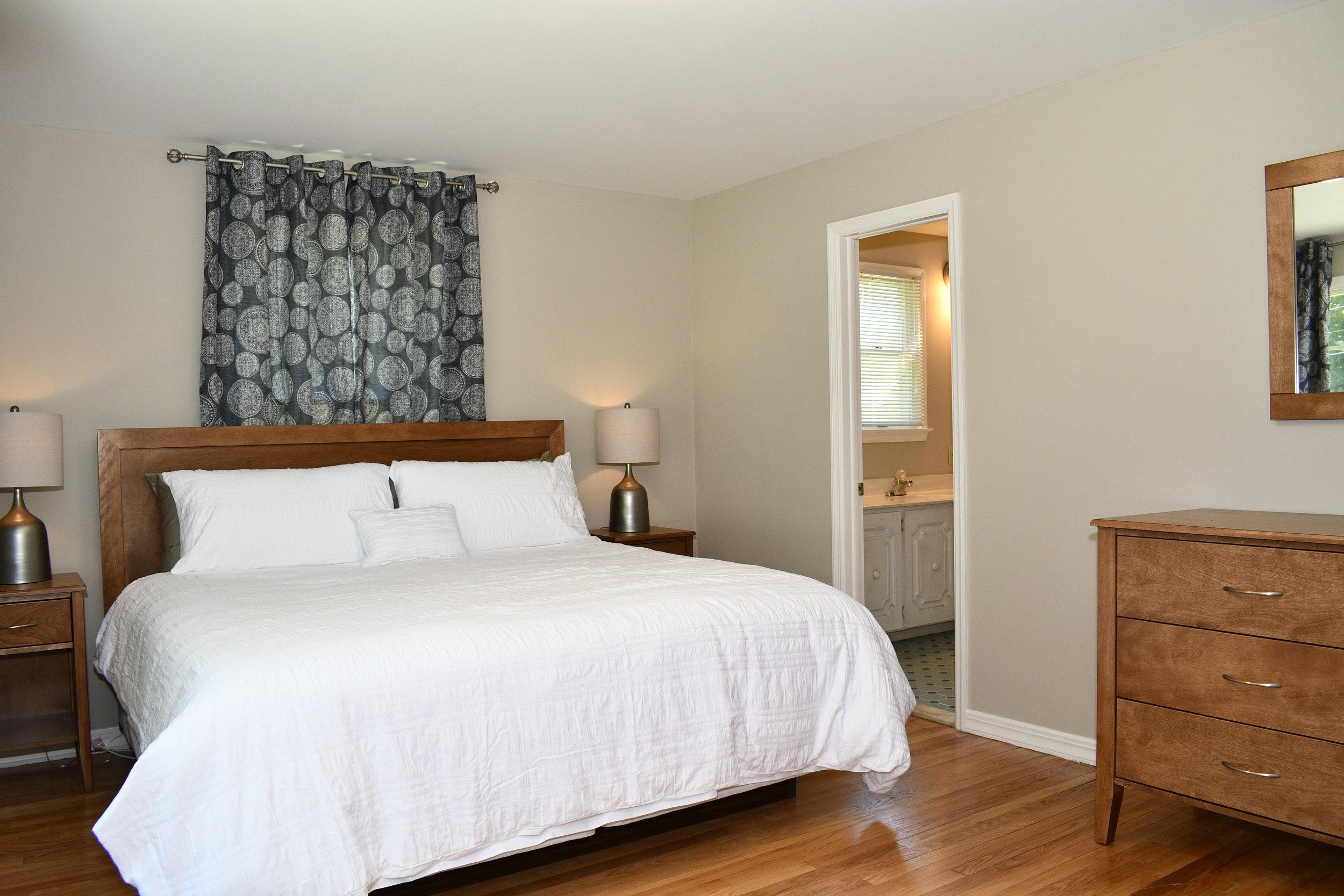 Brick House Master Bedroom