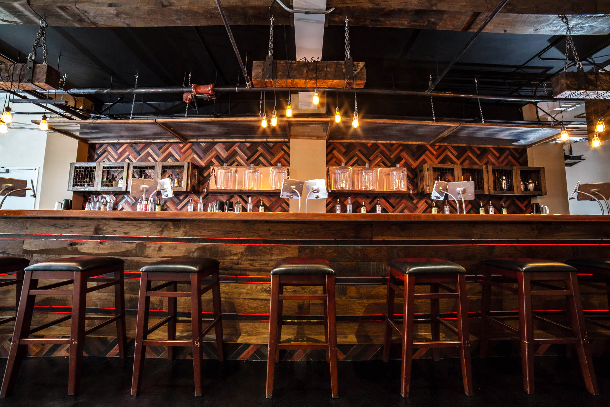 Bar Front View