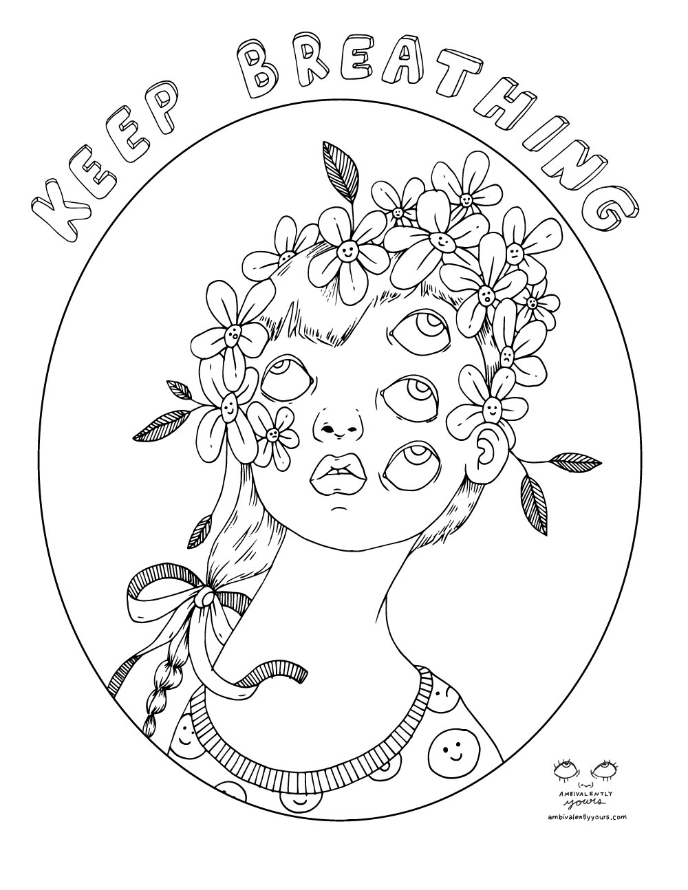 Colouring Pages Ambivalently Yours