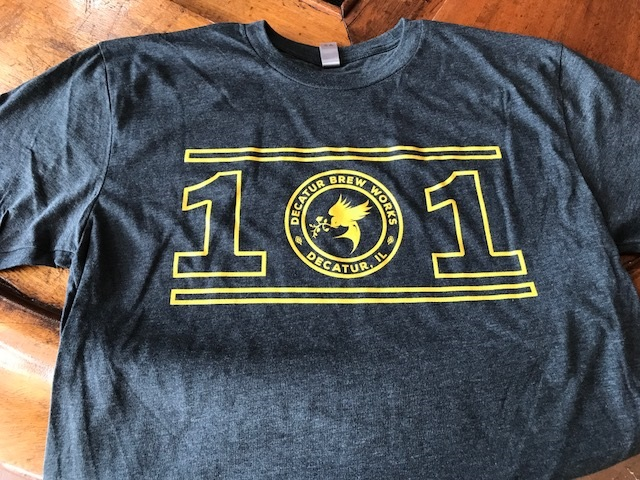 Like drinking the 101 IPA? Take home a t-shirt too!
