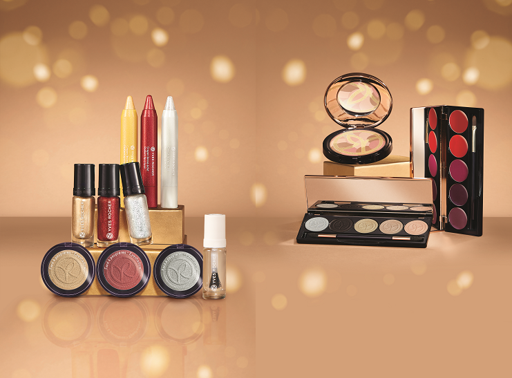 Yvees Rocher make up christmas collection 2016