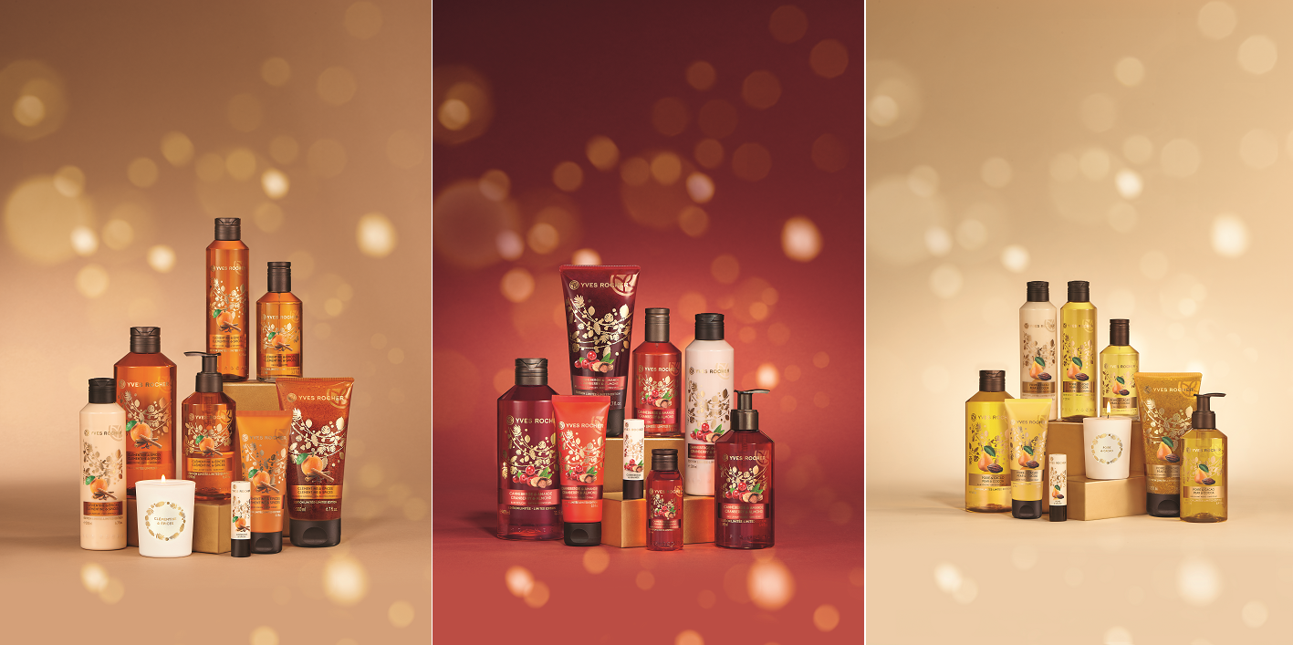 Yves Rocher body wash christmas collection 2016