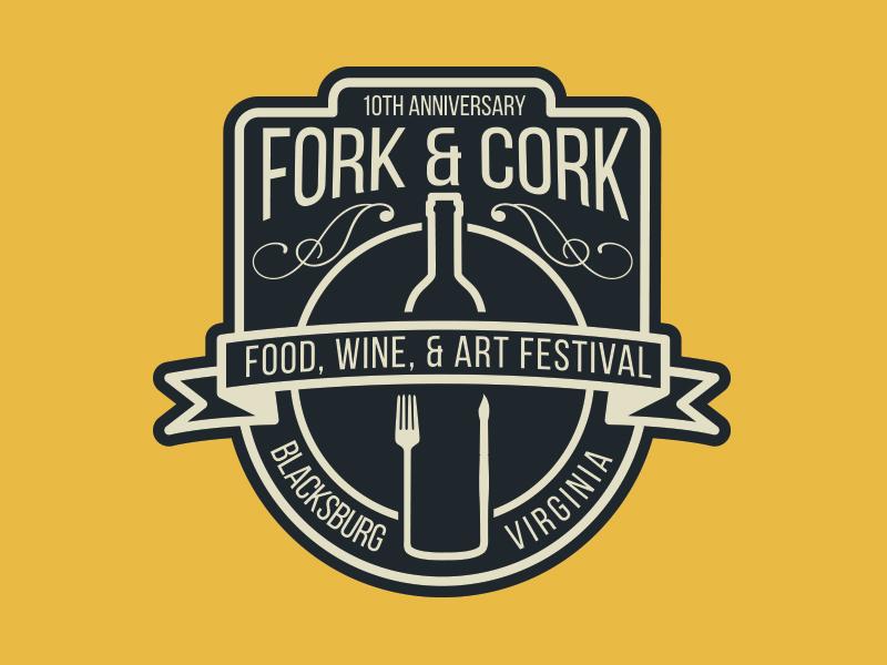 Fork And Cork Festival Logo