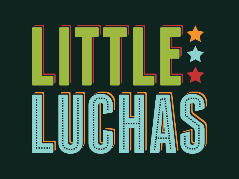 Little Luchas Button Branding