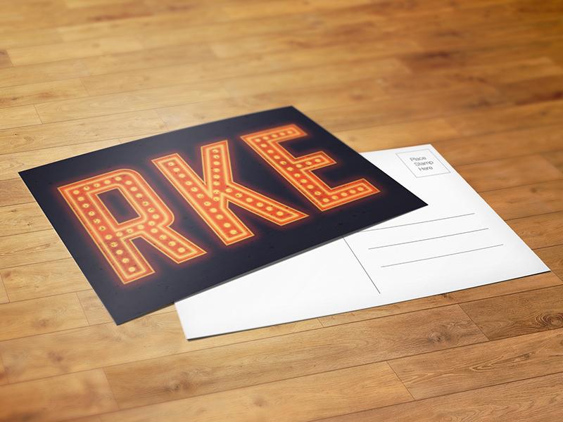Roanoke Lights Postcard