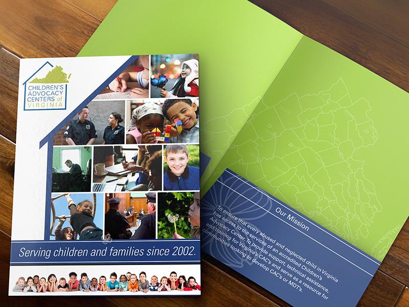 Children's Advocacy Center Pocket Folder