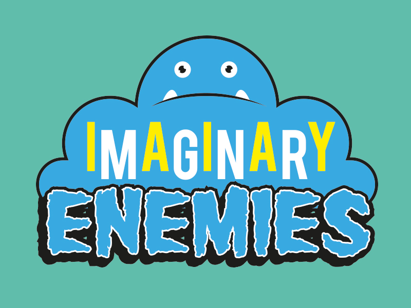 Imaginary Enemies Button Branding