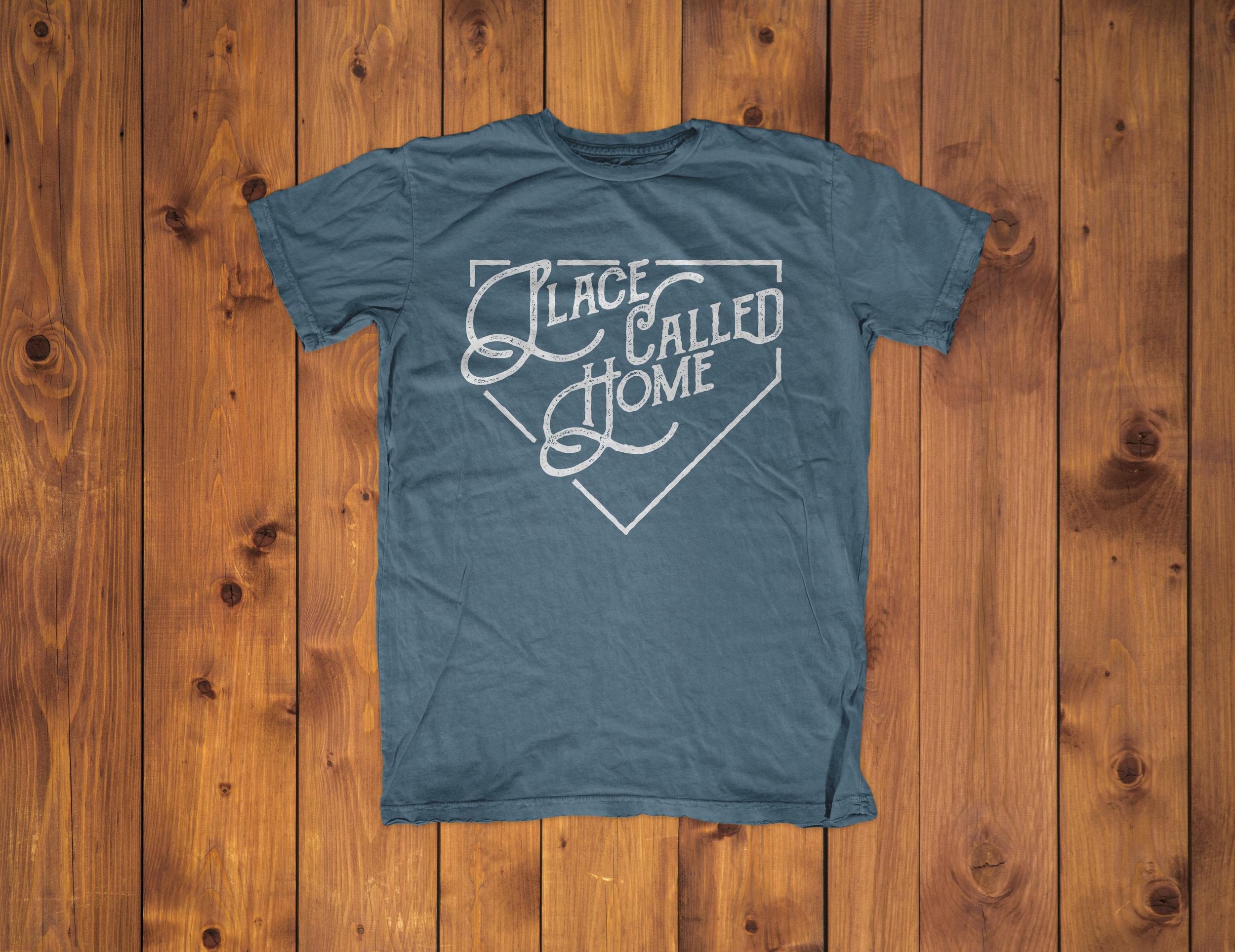Blue Band T-Shirt, Home, Custom T-shirt  Idaho Utah Graphic Design   www.facelesscreativeco.com