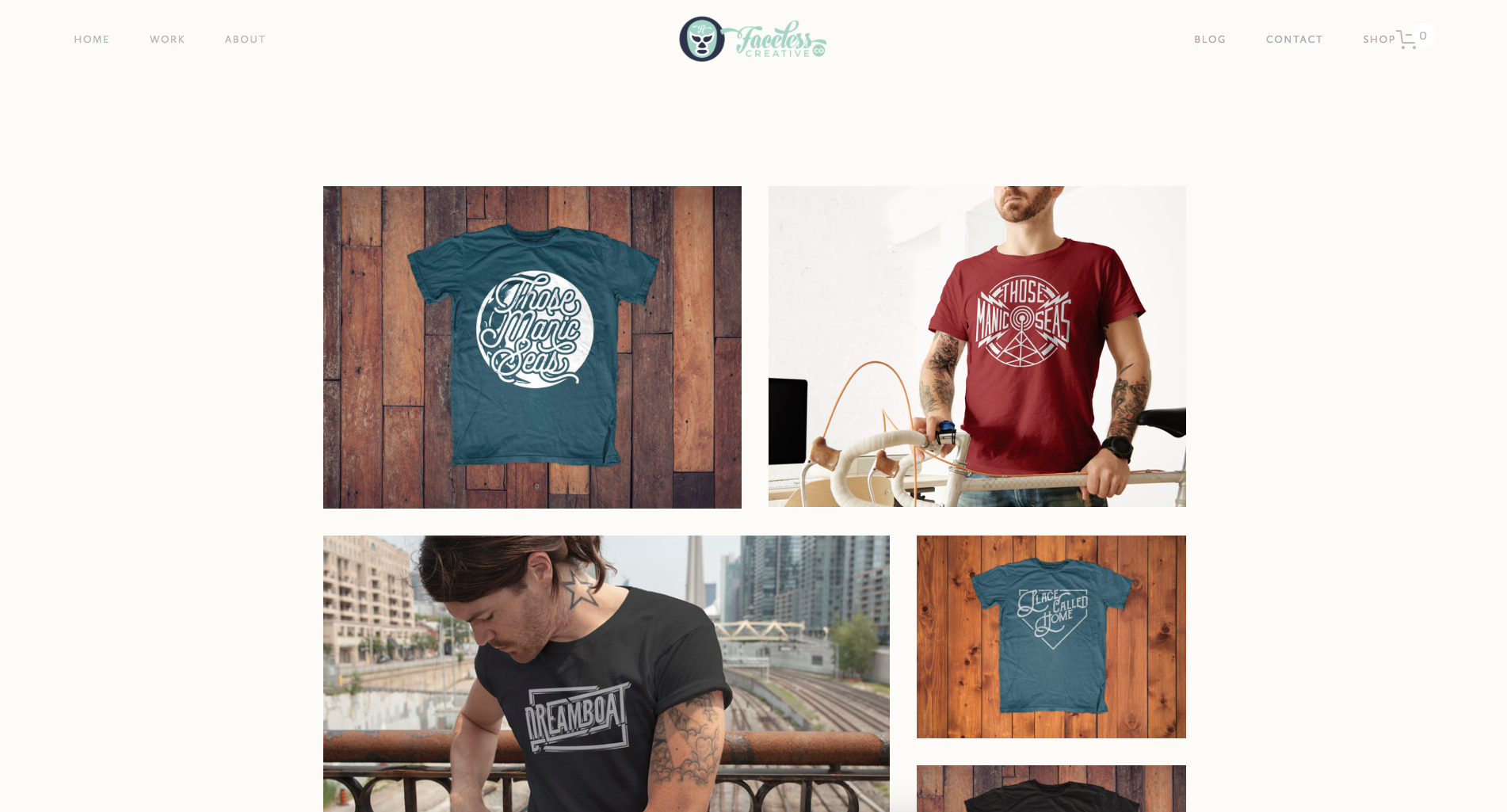 New apparel page.