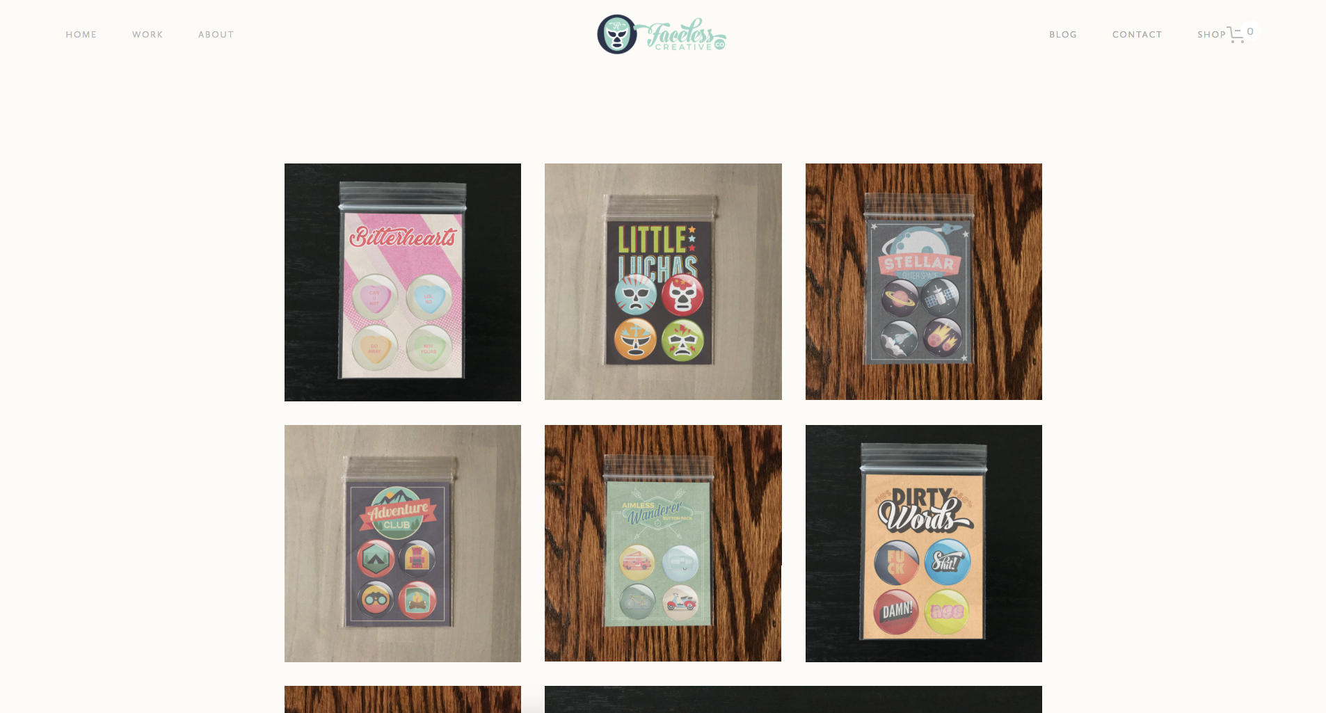 New buttons page.