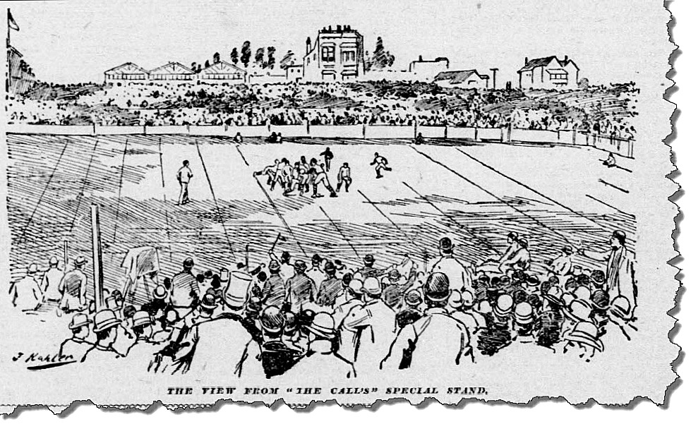 View From The Callstand 1892