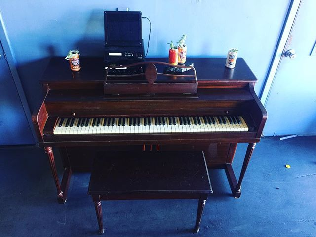 Come grab a pint and play the newest Hella Ivory piano at Independence Brewing Co.!!