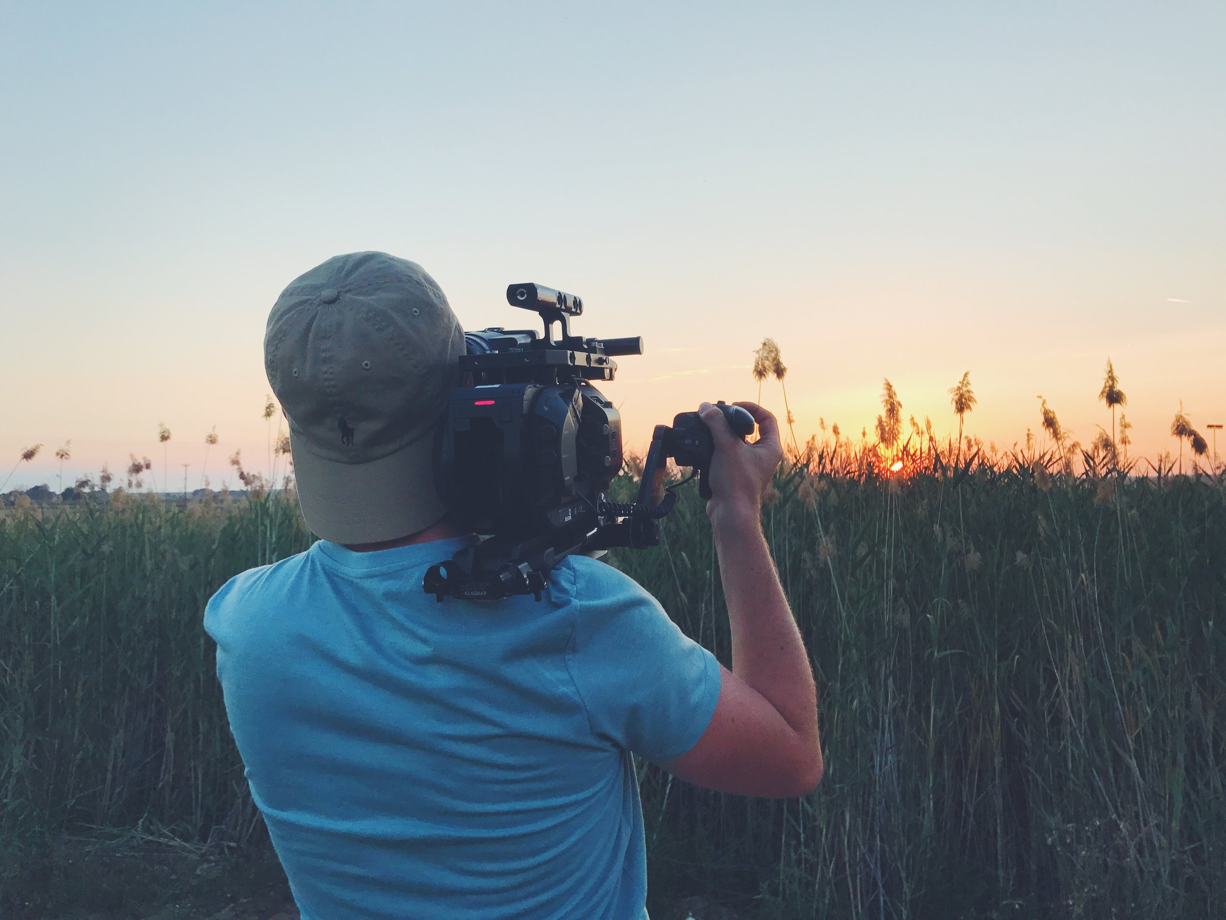 Sunset shooting with Sony FS7 and Zeiss Ultra Primes.