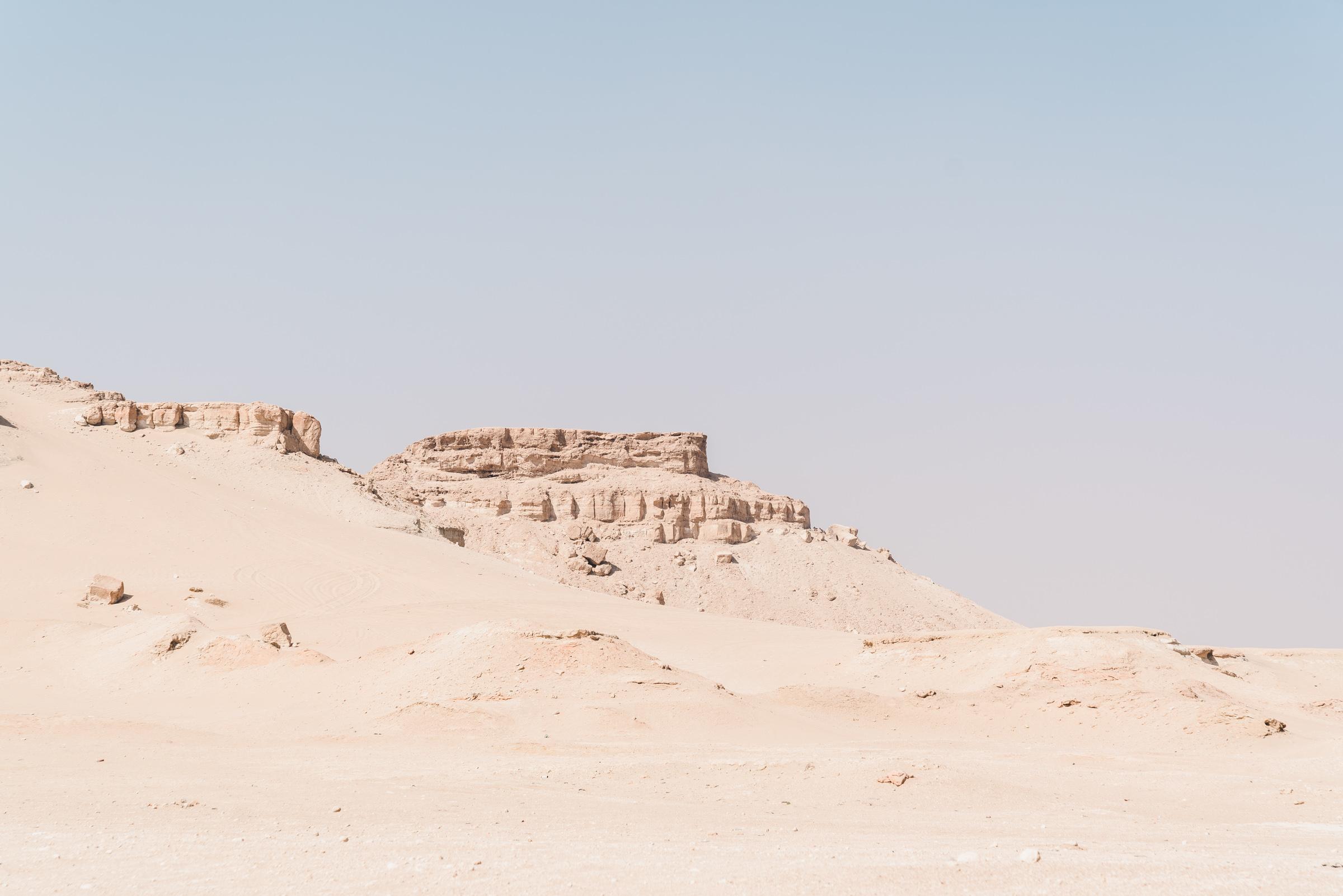 Mutla Ridge. Kuwait Desert, Kuwait