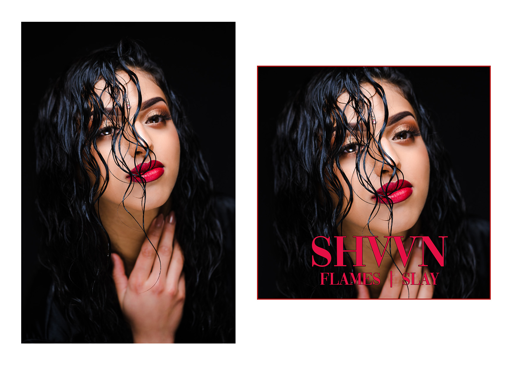 SHVVN - FLAMES ALBUM ART WORK