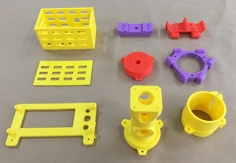 FDM 3D printed components