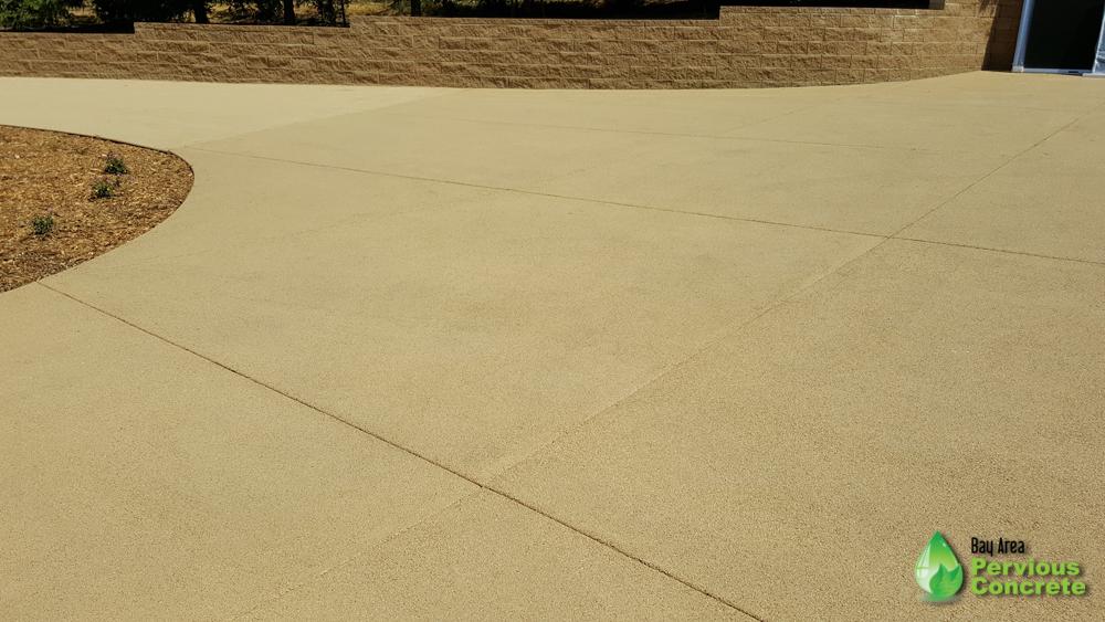 Bay Area Pervious Concrete Portola Pervious Concrete with Driveway - Palo Alto, CA