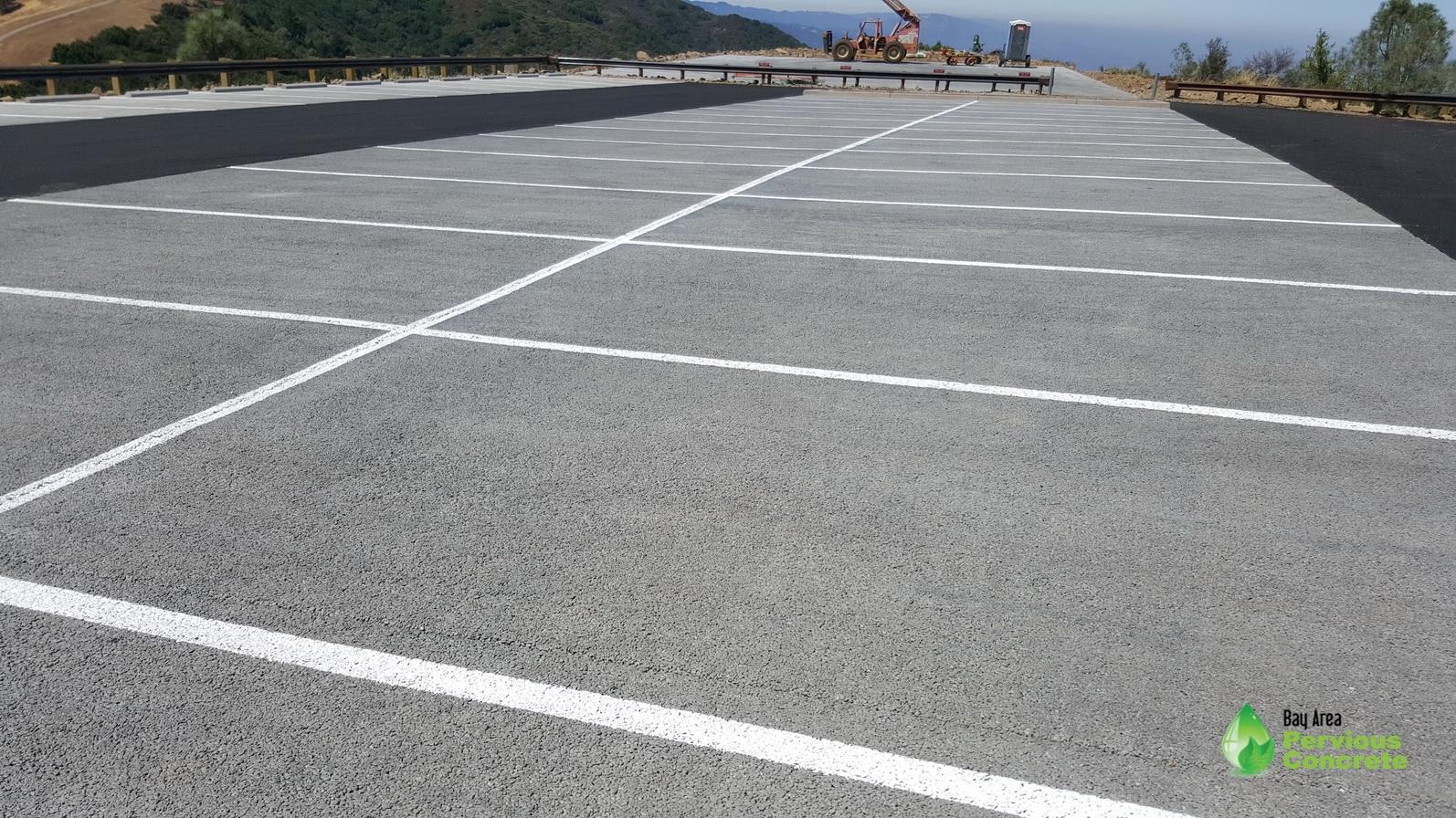 MountUmunhum - Classic Pervious Concrete - Santa Clara County, CA