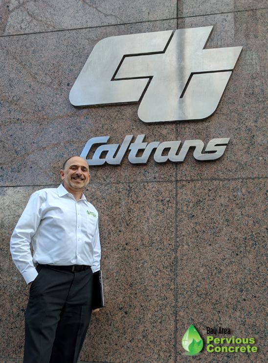 David Liguori at Caltrans District 4 Headquarters