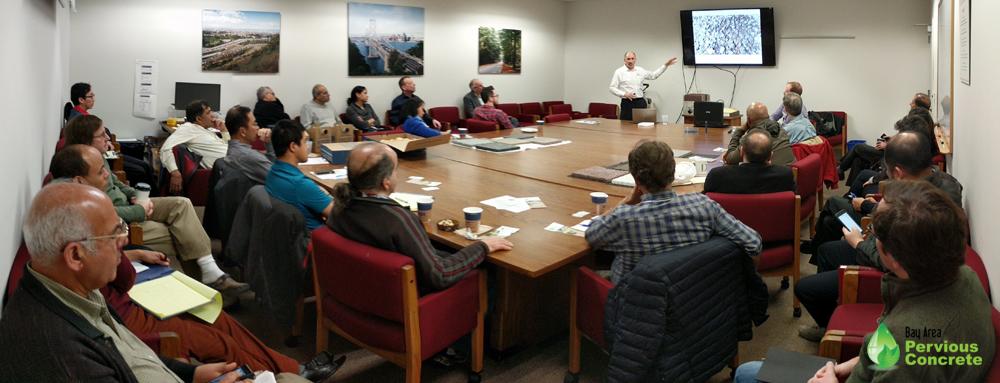 David Liguori presenting at Caltrans District 4 headquarters