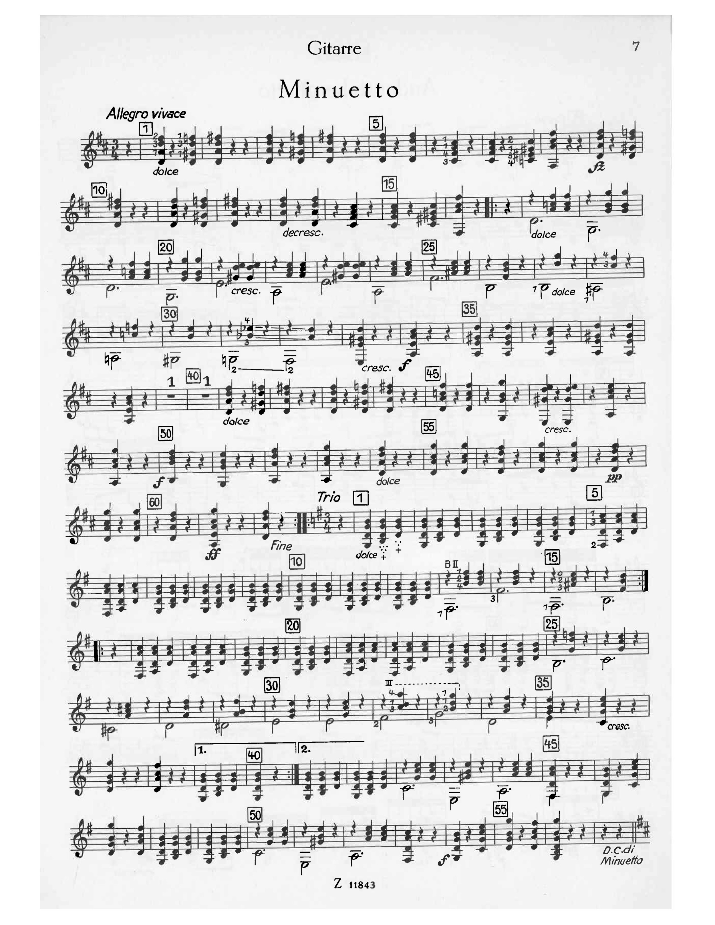 Nicolo Paganini - Excerpt from Trio Concertante