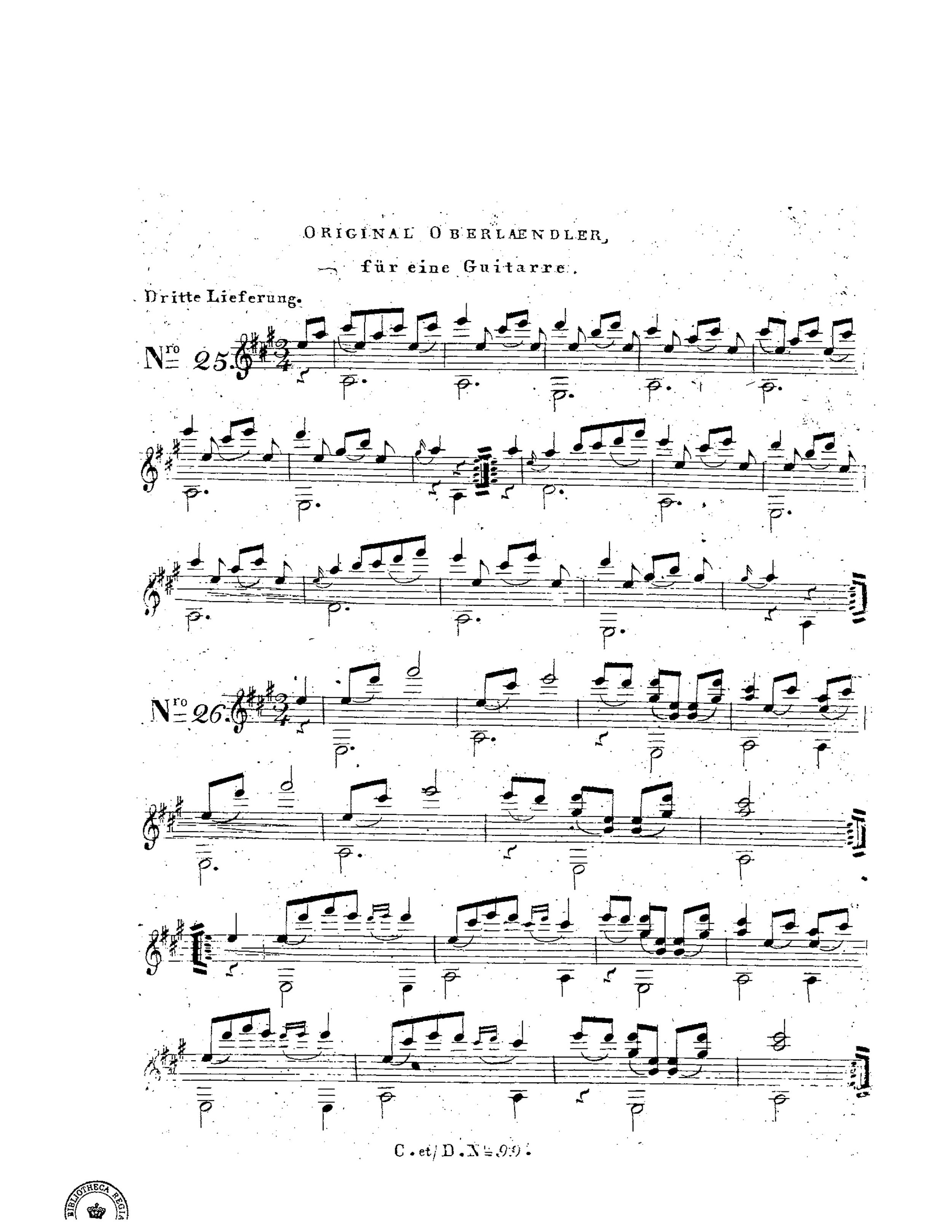 Original Ober Ländler for Guitar, Op.1 (Schuster, Vincenz) 12.jpg