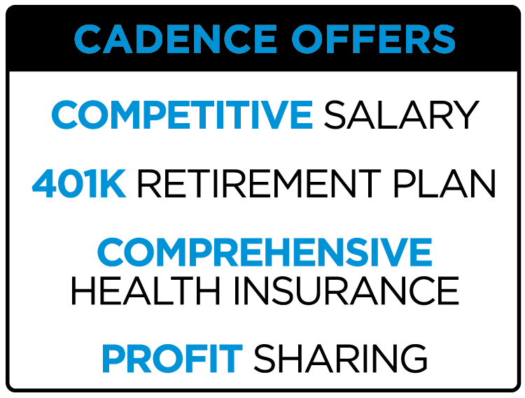 Competitive Salary, 401K, Retirement Plan, Comprehensive Health Insurance, Profit Sharing