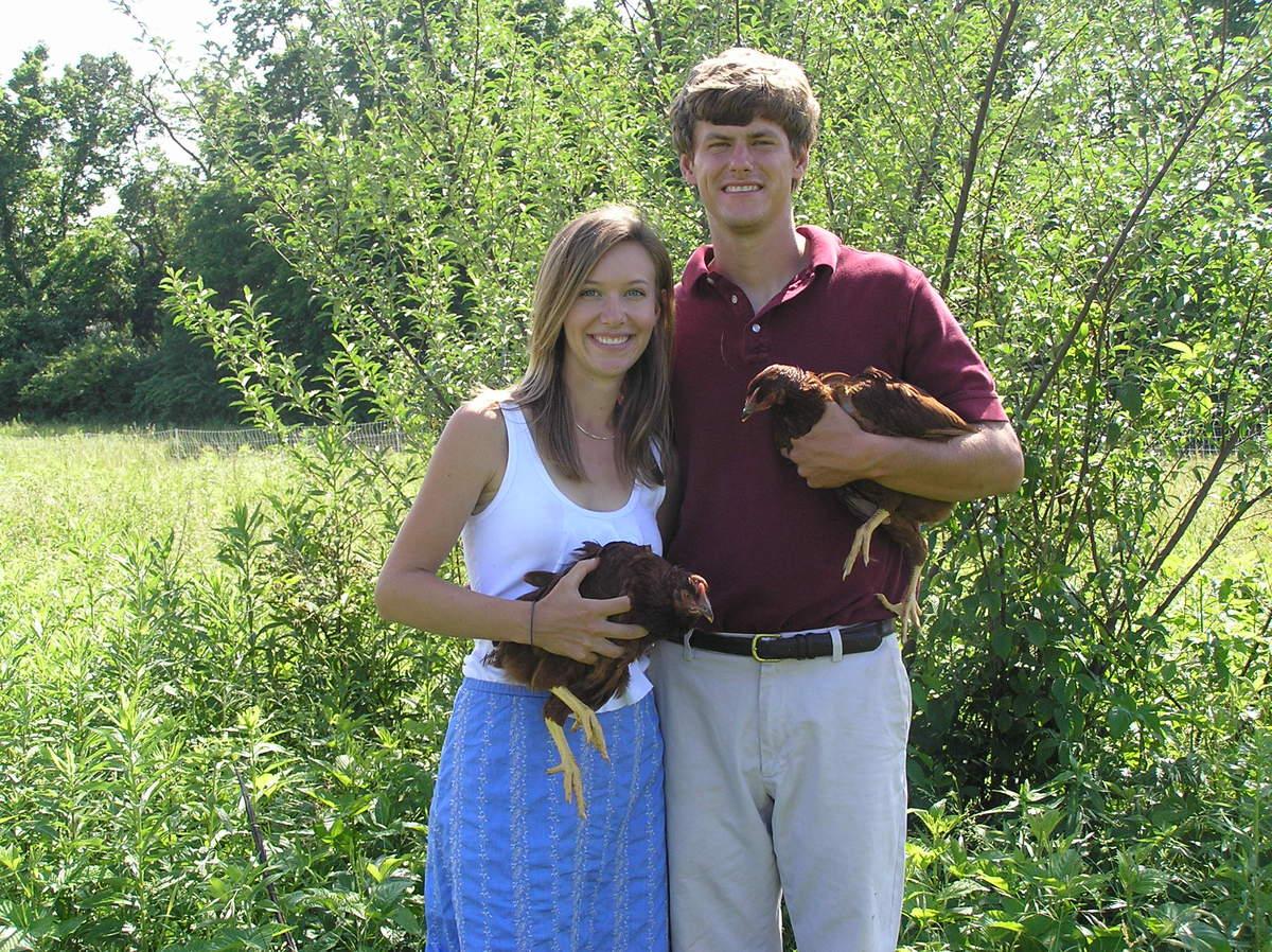 Mark and Claire of Finn Meadows Farm