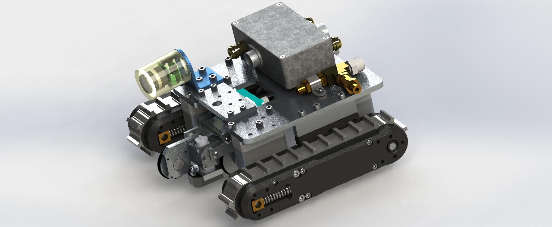 """NEW """"Maggut""""magnetic crawler with integrated UT scanning capability"""