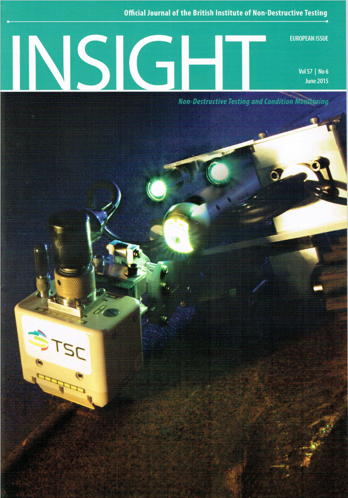 Insight Journal Cover ft. Bespoke Inuktun MicroMag System