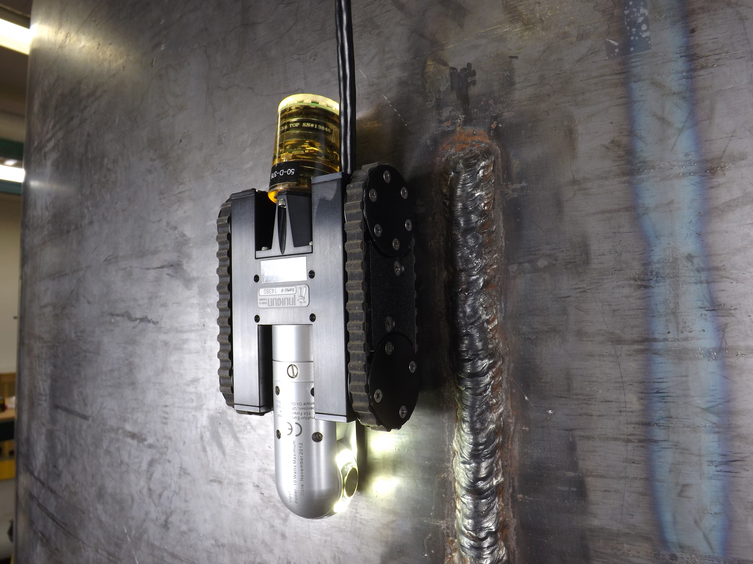 NanoMag on Steel Wall