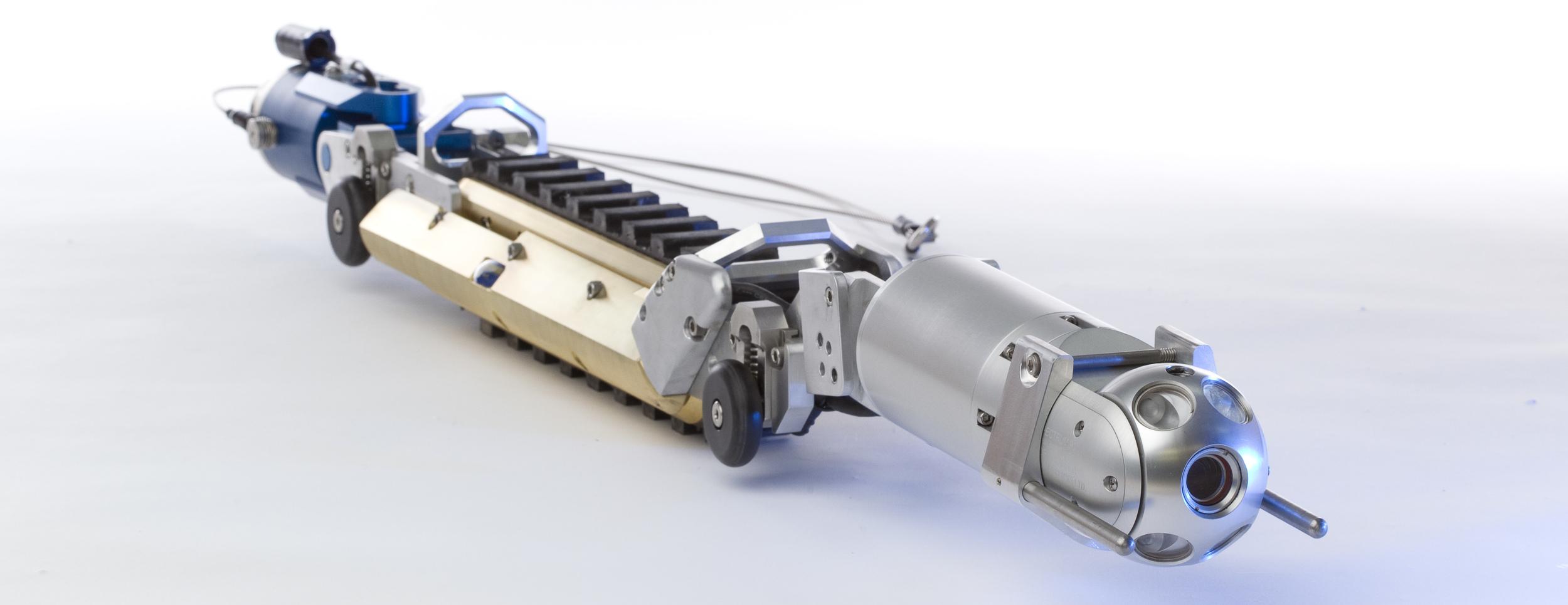 Versatrax 150, VT150, Inline Configuration Pipe Inspection Crawler