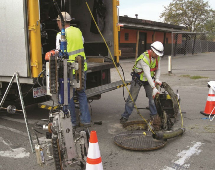 Inspection of the Del Norte Trunk Sewer