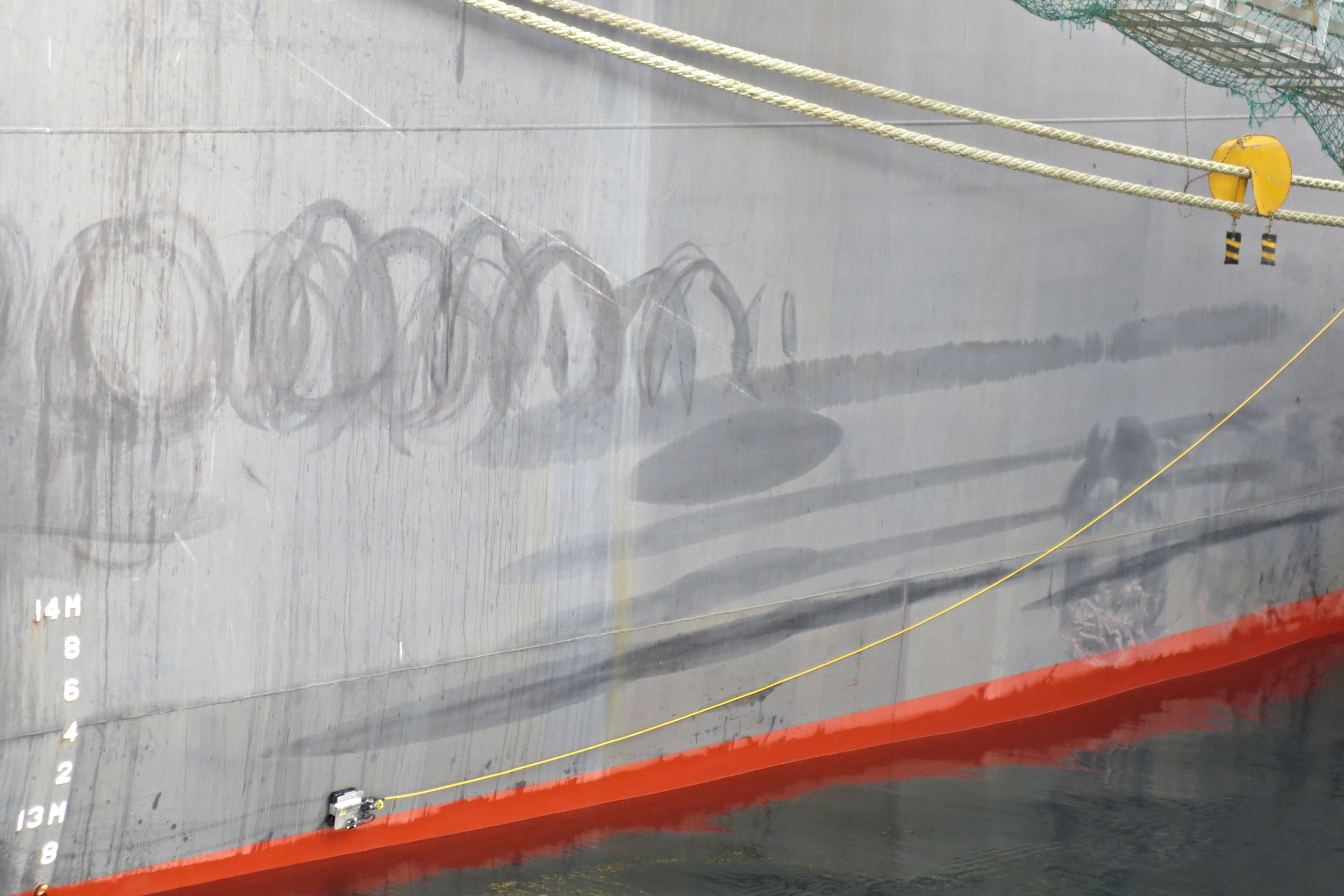 MicroMag inspects Ship Hull