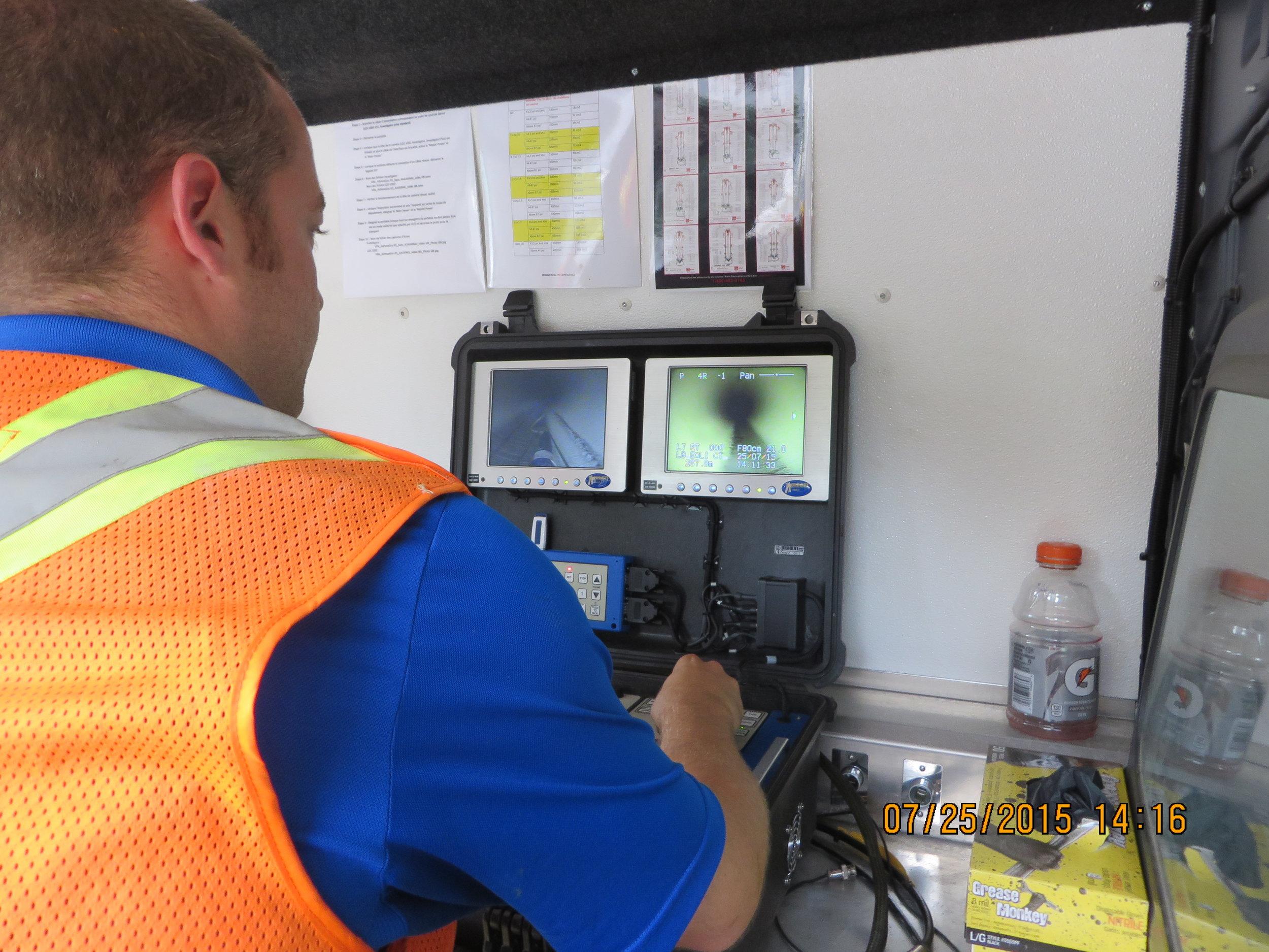Versatrax 150™ Municipal Water Inspection
