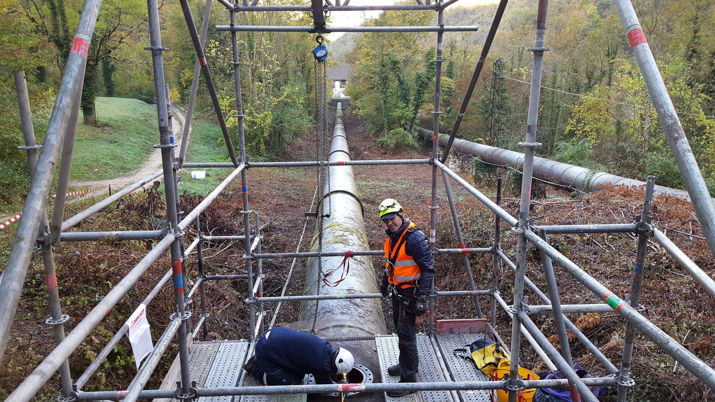 Versatrax 150 Pipe Inspection