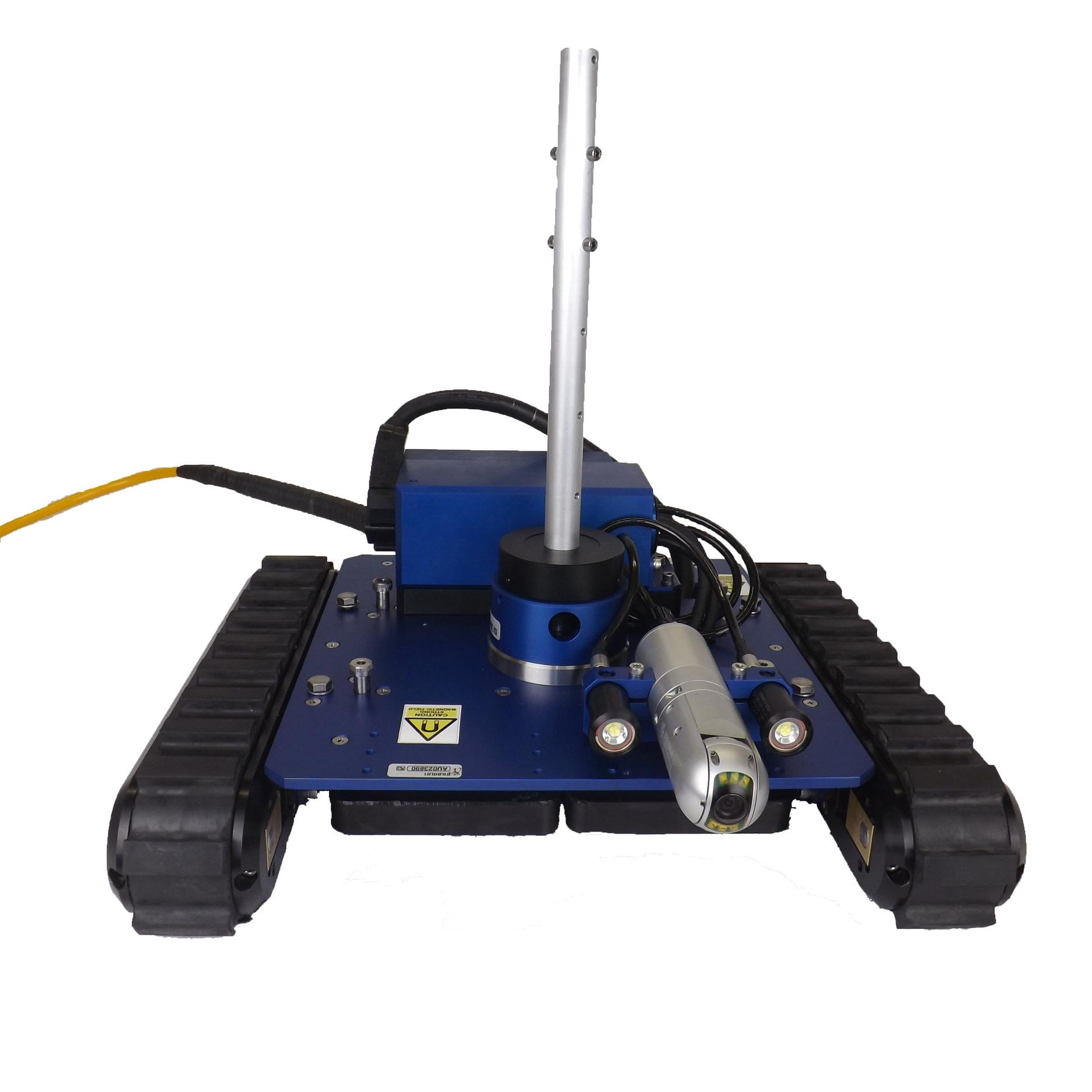 """MegaMag"", a custom magnetic crawler by Inuktun"