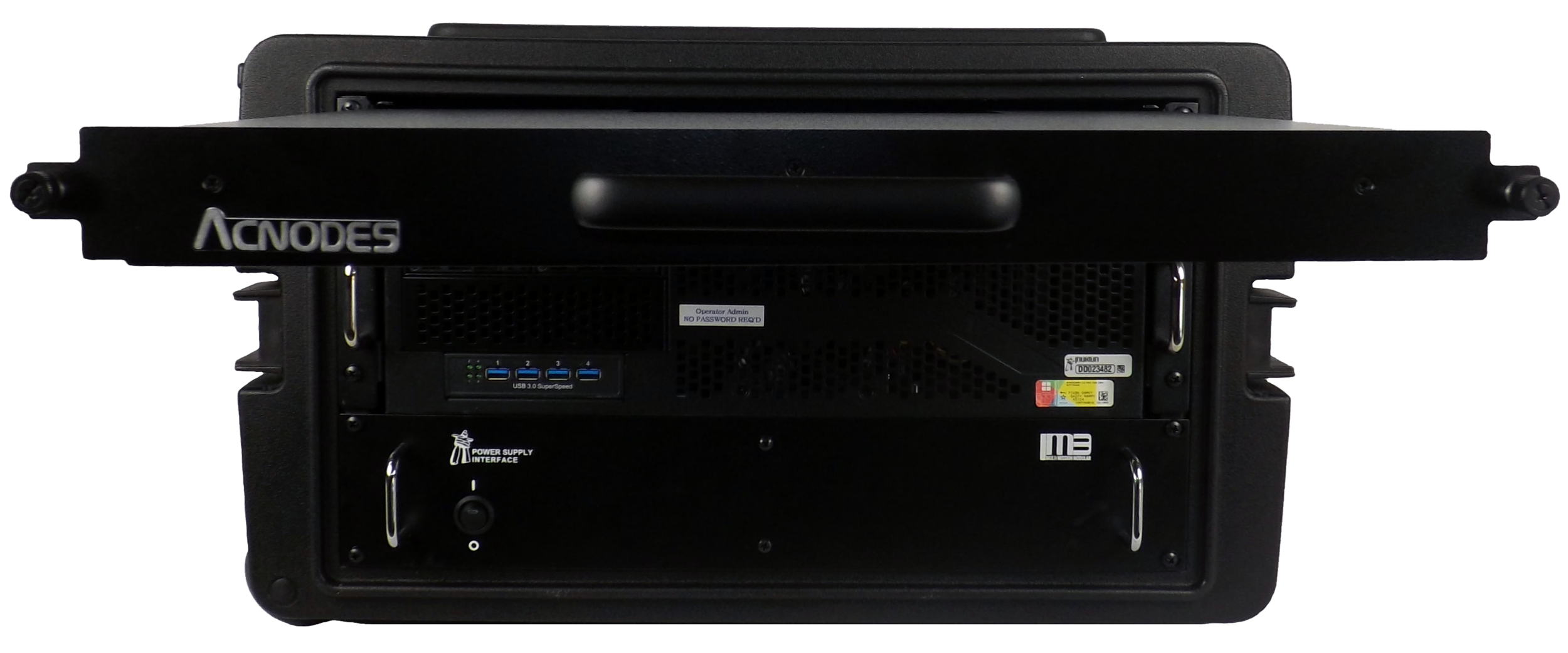 Inuktun PC Control System in Roller Case