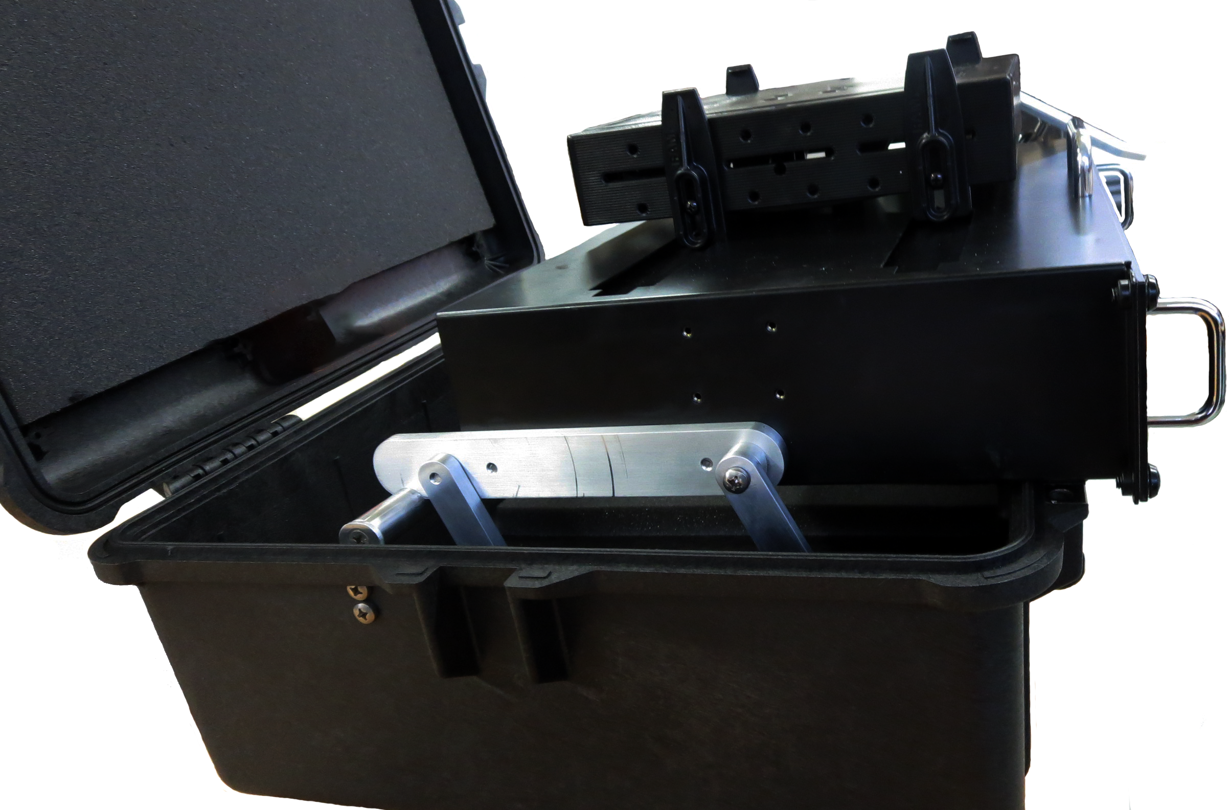 Control and Carry Case (laptop not shown)