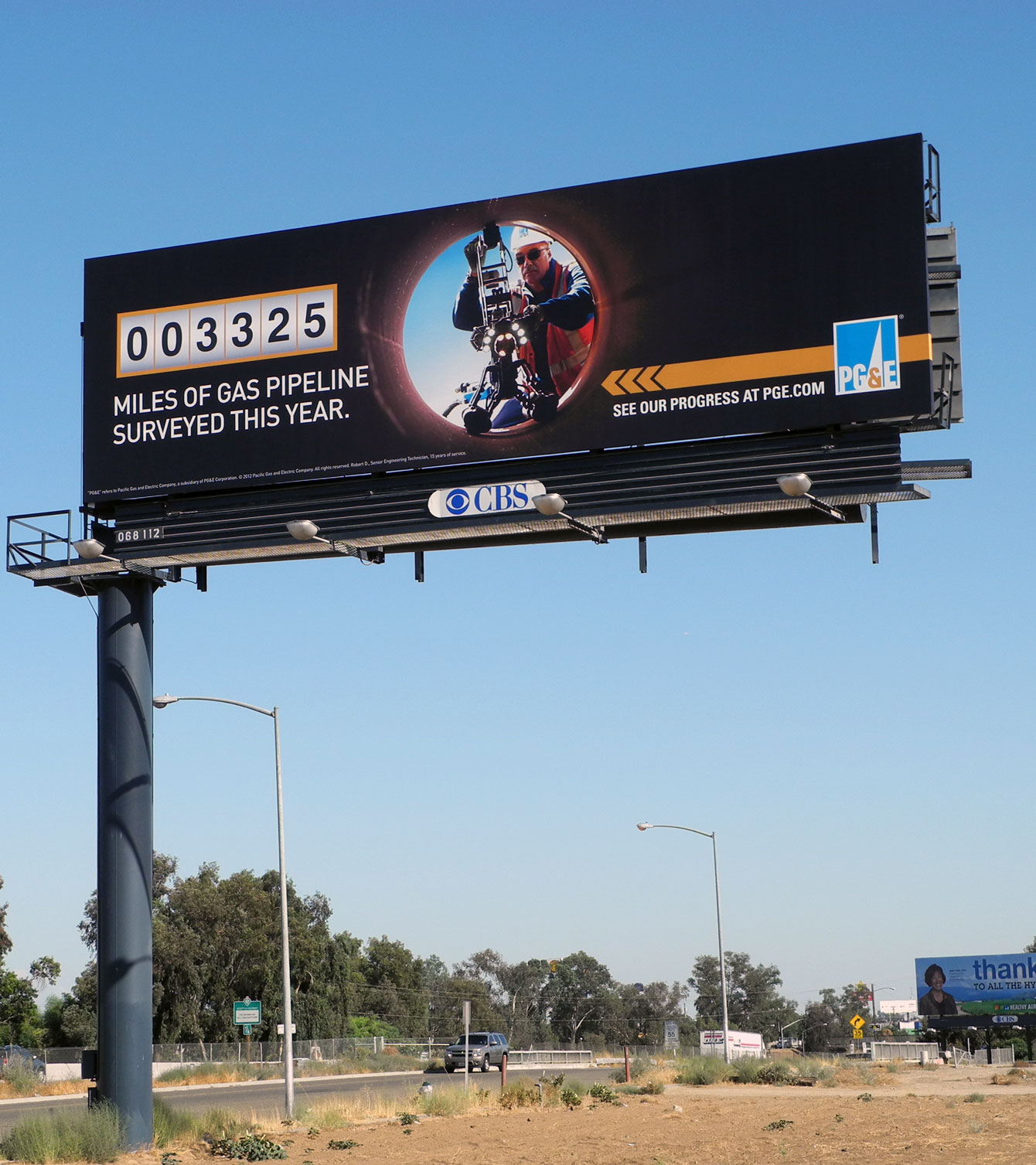 PG&E Billboard Ad Features Inuktun Versatrax 300™ | San Francisco Bay, CA