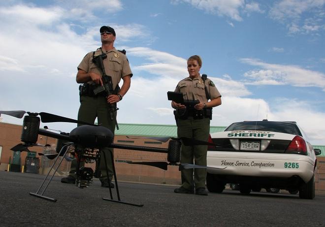 DragonFlyer X6 Photo : Mesa County Sheriff's Office