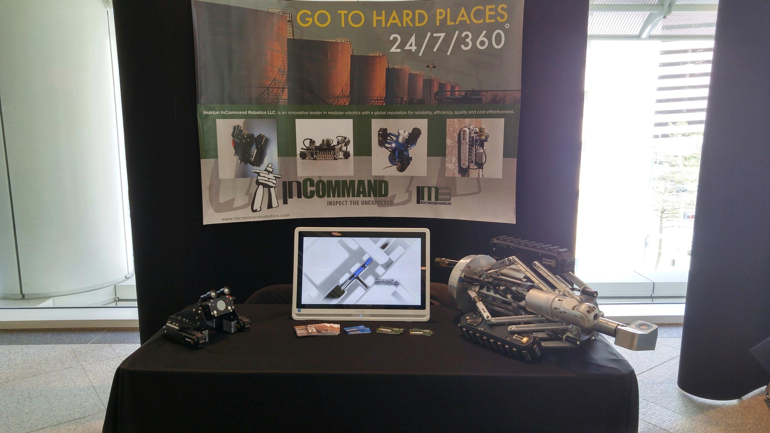 Inuktun InCommand Robotics at the SPRINT Robotics Seminar 2016