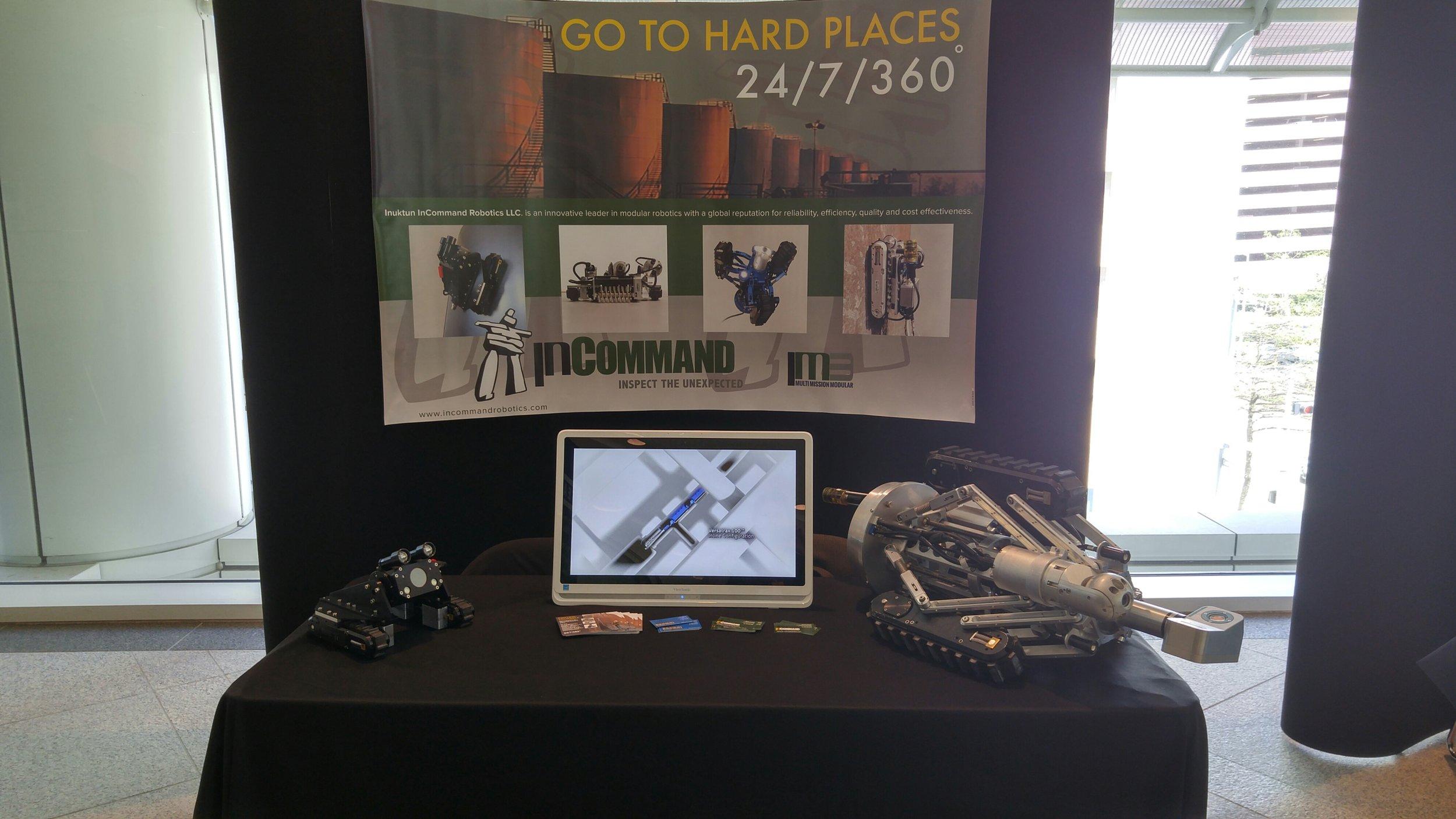 Inuktun InCommand Robotics at the SPRINT Robotics Seminar