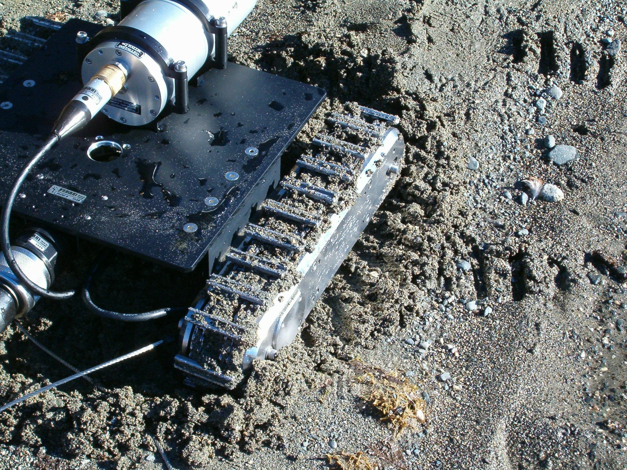 Inuktun Minitrac Crawler Track for Remote Visual Inspection
