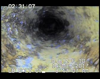 Internal Pipe crawler Under Difficult Conditions