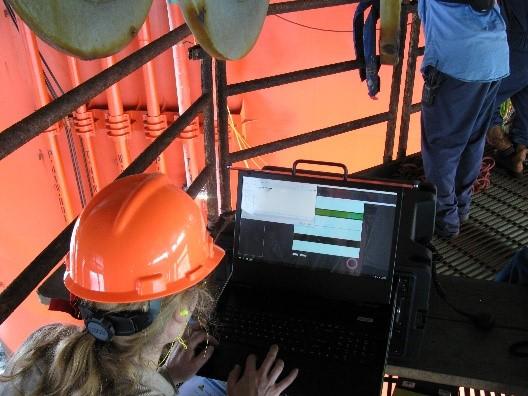 Inuktun Personnel Performs RVI on Offshore Oil Platform