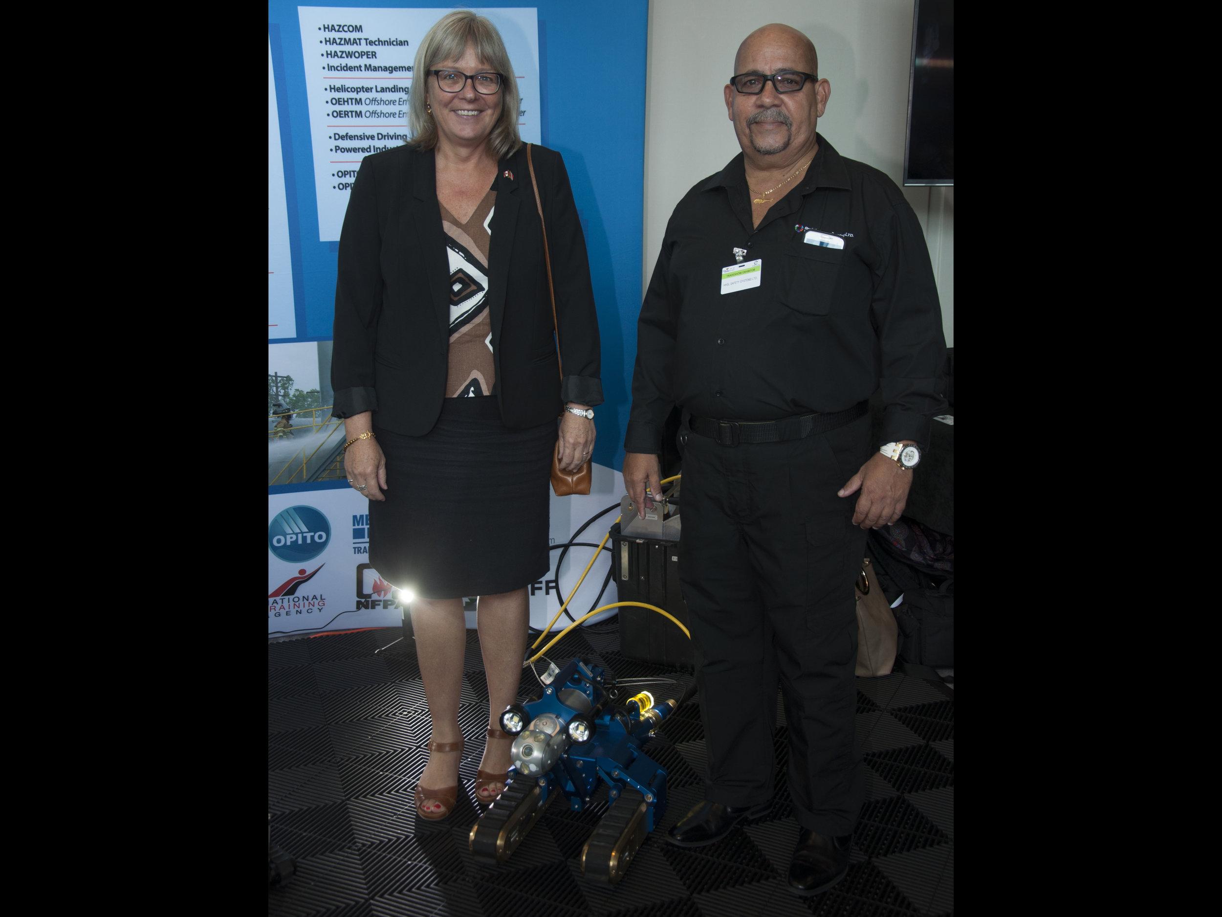 Canadian High Commissioner to Trinidad, Carla Hogan Rufelds
