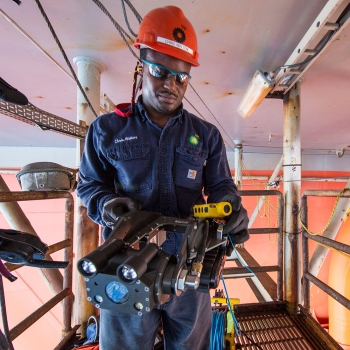 Inuktun MaggHD™ on offshore platform